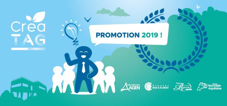Créa' TAG – Promotion 2019